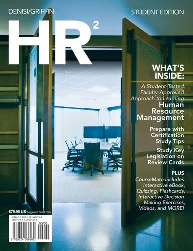 9781133604518: HR 2 (with Coursemate and Career Transitions 2.0 Printed Access Card) (Engaging 4ltr Press Titles for Management)