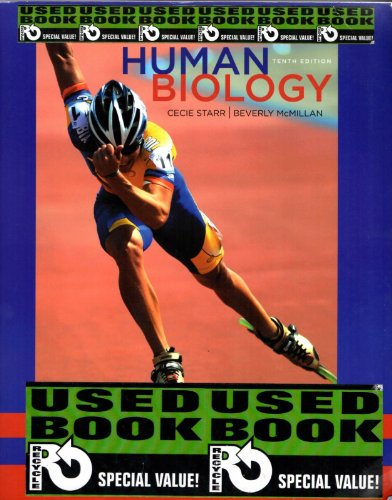 9781133605720: Human Biology Tenth Edition Instructors Edition Instructor's Edition