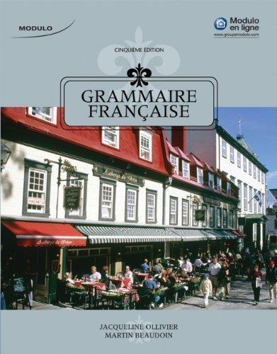 9781133605805: Grammaire Française (World Languages)