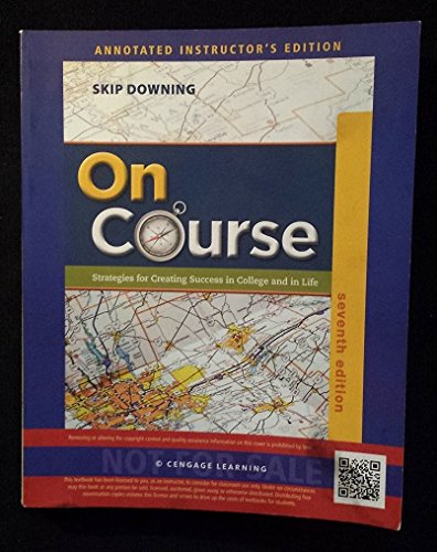 On Course 7th Annotated Instructor Edition: downing, skip