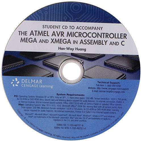 9781133607274: The Atmel AVR Microcontroller: Mega and Xmega in Assembly and C