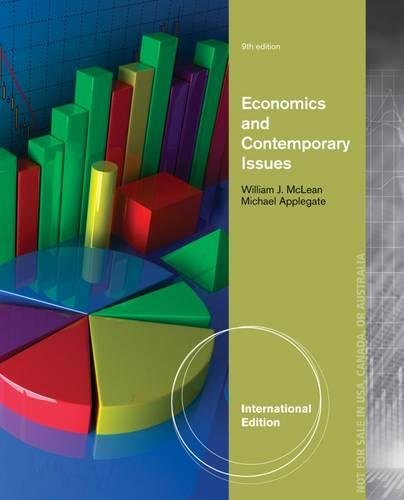 9781133607526: Economics and Contemporary Issues