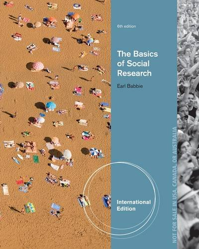 9781133607595: The Basics of Social Research (International Edition)