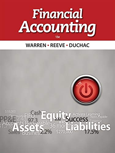 9781133607618: Financial Accounting