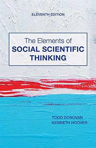 9781133607670: The Elements of Social Scientific Thinking
