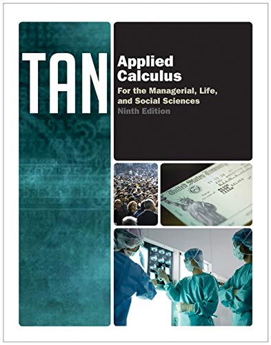 9781133607717: Applied Calculus for the Managerial, Life, and Social Sciences