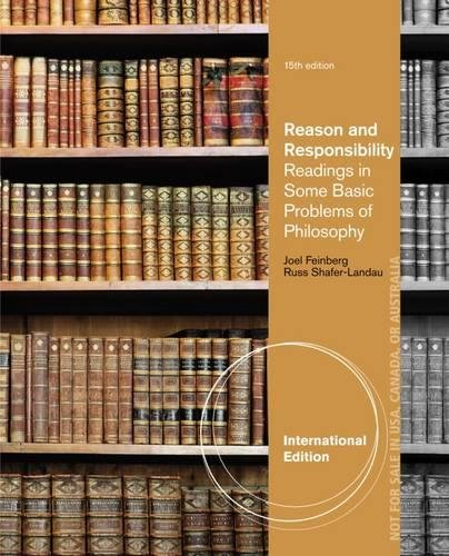 9781133608509: Reason and Responsibility: Readings in Some Basic Problems of Philosophy