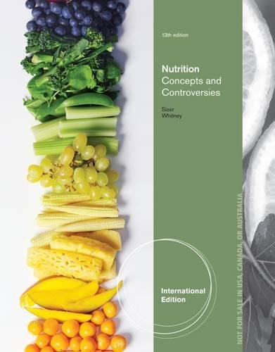 9781133609995: Nutrition, Concepts and Controversies