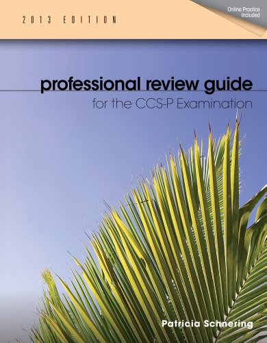 9781133611066: Professional Review Guide for CCS-P Exam, 2013 Edition (Book Only)