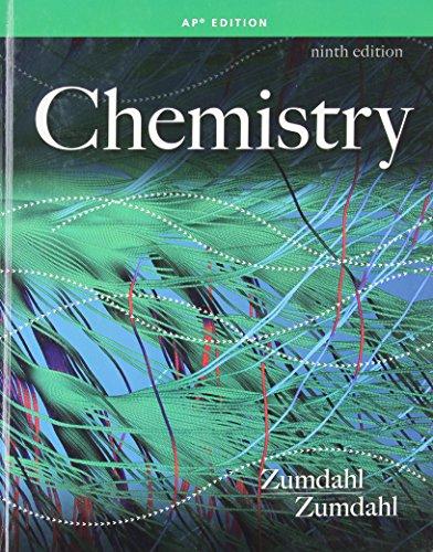 Chemistry AP Edition: Susan A. Zumdahl,