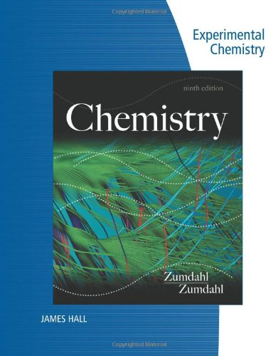 Lab Manual for Zumdahl/Zumdahl's Chemistry, 9th (9781133611486) by Zumdahl, Steven S.; Zumdahl, Susan A.