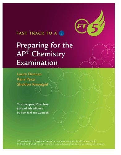 9781133611516: Preparing for the AP Chemistry Examination (Fast Track to a 5)