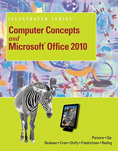 9781133611547: Computer Concepts and Microsoft Office 2010 Illustrated (Computer Concepts and Microsoft Office Illustrated Series)