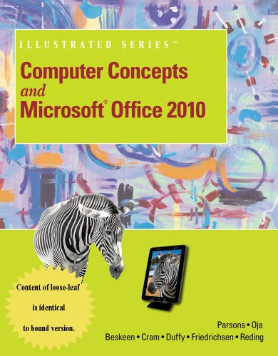 9781133611585: Computer Concepts Brief and Microsoft Office 2010 Illustrated Introductory