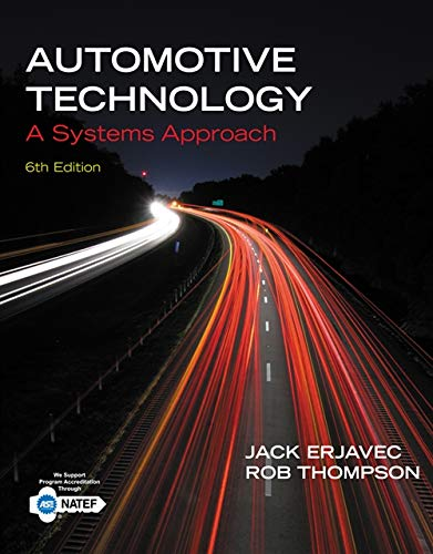 Automotive Technology: A Systems Approach: Thompson, Rob, Erjavec,