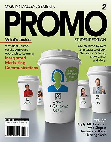 9781133626176: PROMO2 (with CourseMate, 1 term (6 months) Printed Access Card) (Engaging 4ltr Press Titles in Marketing)