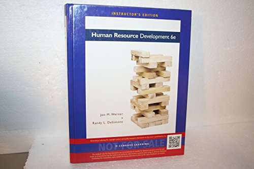 9781133626442: Human Resource Development 6e Instructor's Edition