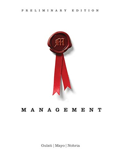 9781133626701: Management, Preliminary Edition (New 1st Editions in Management)
