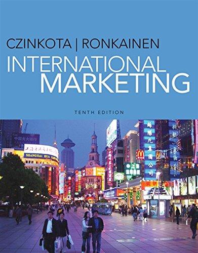 International Marketing: Michael R. Czinkota,