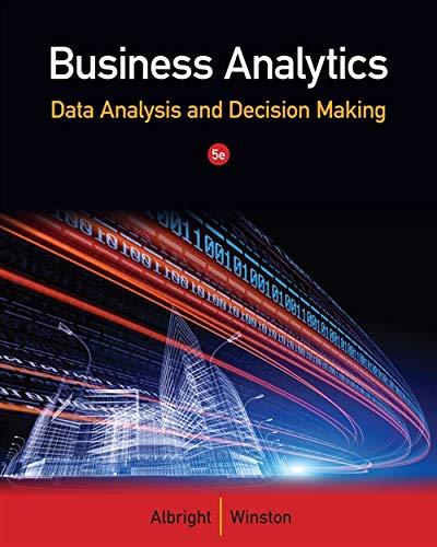 9781133629603: Business Analytics: Data Analysis & Decision Making