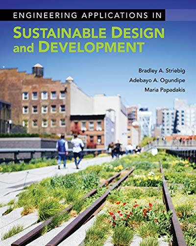 9781133629771: Engineering Applications in Sustainable Design and Development