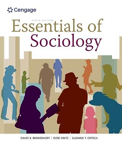 Essentials of Sociology: Brinkerhoff, David B.;