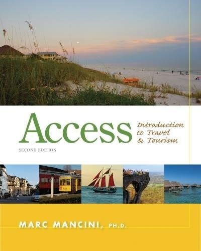 9781133687030: Access: Introduction to Travel and Tourism
