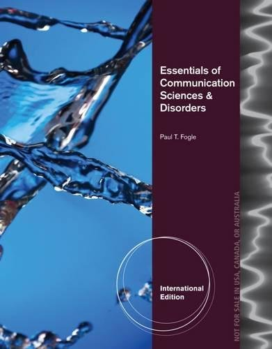 9781133687306: Essentials of Communication Sciences & Disorders