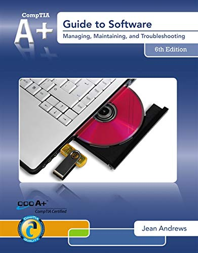 9781133703730: LabConnection on DVD for A+ Guide to Software