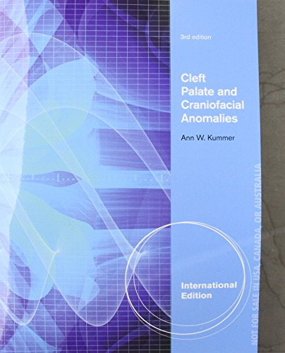 9781133732648: Cleft Palate & Craniofacial Anomalies. by Ann Kummer