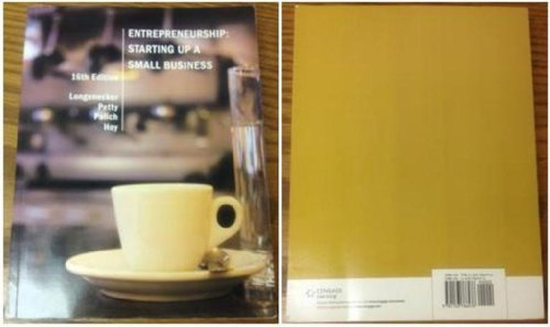 Entrepreneurship: Starting Up a Small Business: J. William Petty,