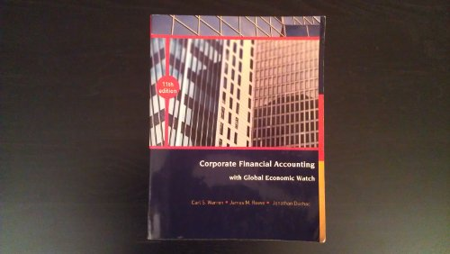 Corporate Financial Accounting with Global Economic Watch: James M. Reeve