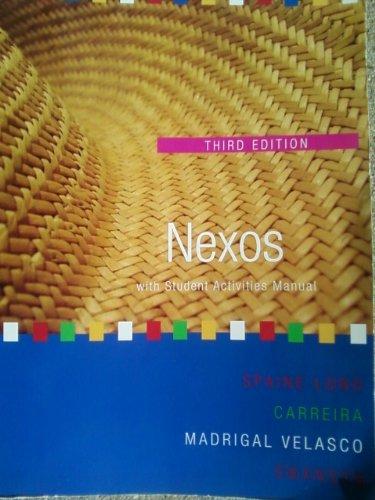 9781133767619: Nexos, with Student Activites Manual