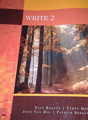 9781133770503: Write 2