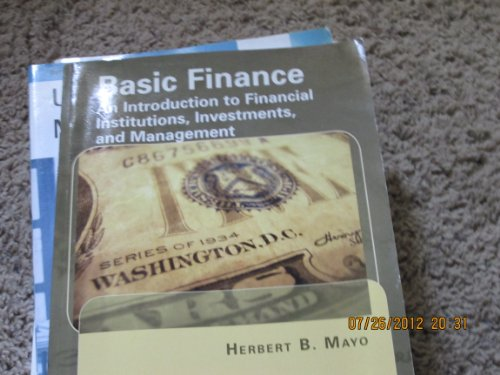 9781133870463: Basic Finance-An Introduction to Financial Institutions, Investments, and Management