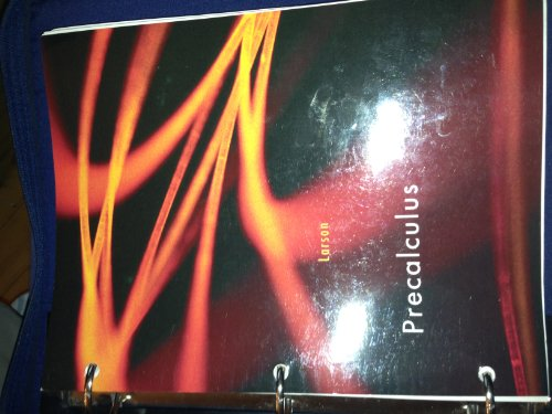 Precalculus (9781133871330) by Ron Larson