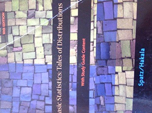 9781133871910: Basic Statistics: Tales of Distributions