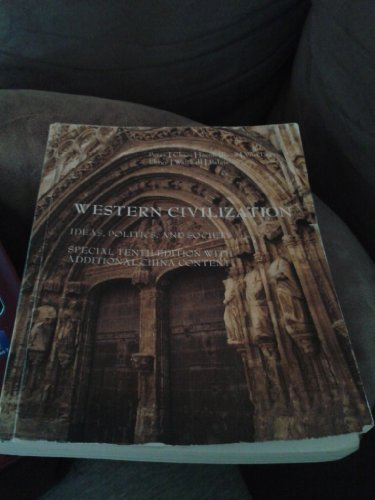 9781133873259: Western Civilization: Ideas, Politics, and Society, 10th Edition with Additional China Content