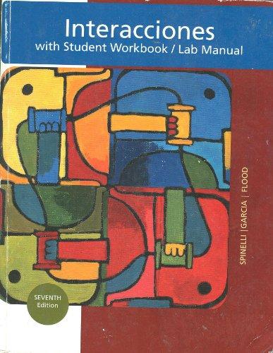 9781133874126: Interacciones with Student Workbook/lab Manual, 7e