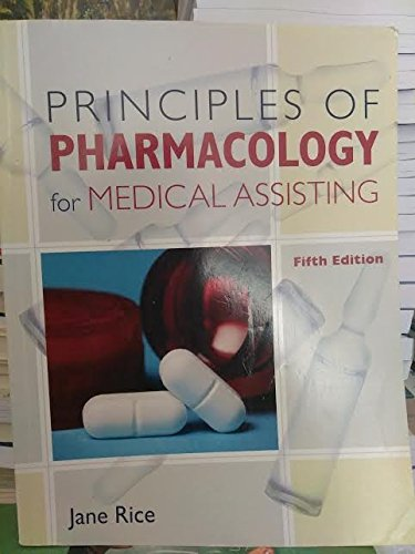 9781133886556: Principles of Pharmacology for Medical Assisting