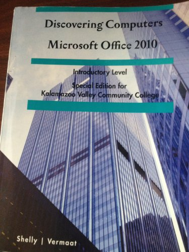 9781133887133: Discovering Computers & Microsoft Office 2010 (In One Book)