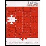 Business: Speacial Edition. 11th Edition. Custom. Looseleaf (9781133889403) by William Pride; Robert J. Hughes; Jack R. Kapoor
