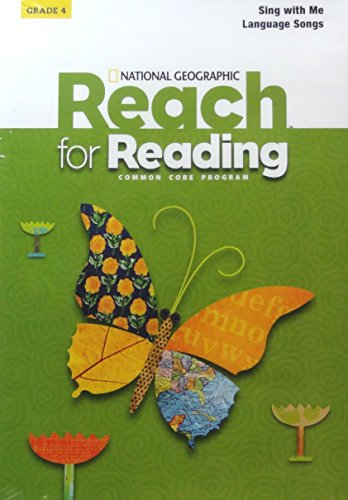 9781133899921: National Geographic Reach for Reading Common Core Program - Grade 4, Sing with Me Language Songs