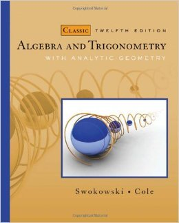 9781133904564: Algebra and Trigonometry Classic Edition with Webassign