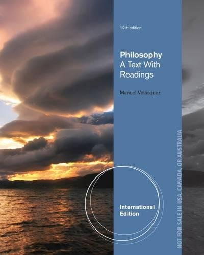 9781133933441: Philosophy: A Text with Readings