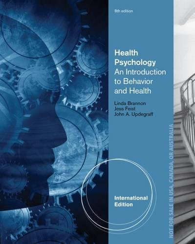 9781133593072 health psychology an introduction to behavior and 9781133934349 health psychology an introduction to behavior and health fandeluxe Gallery
