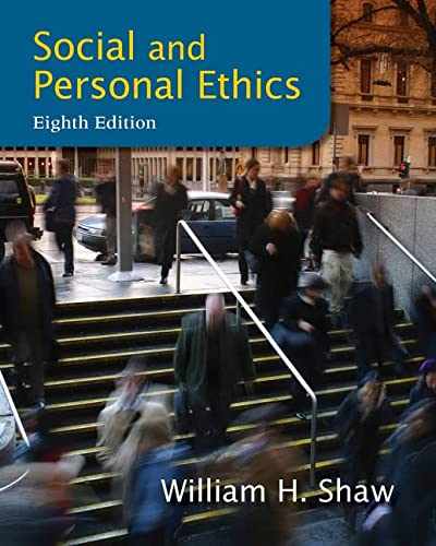9781133934738: Social and Personal Ethics, 8th Edition