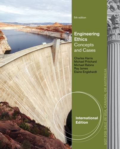 9781133935209: Engineering Ethics: Concepts and Cases