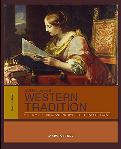 Sources of the Western Tradition: Volume I: Perry, Marvin