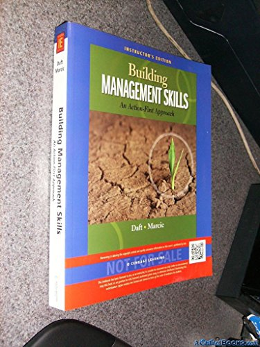 9781133935957: Building Management Skills: An Action First Approach, Instructor's Edition